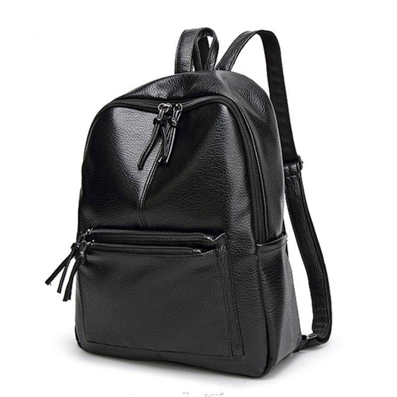 ebd682de04  27.3 - Cool Bolish New Travel Backpack Korean Women Female Rucksack  Leisure Student School bag Soft