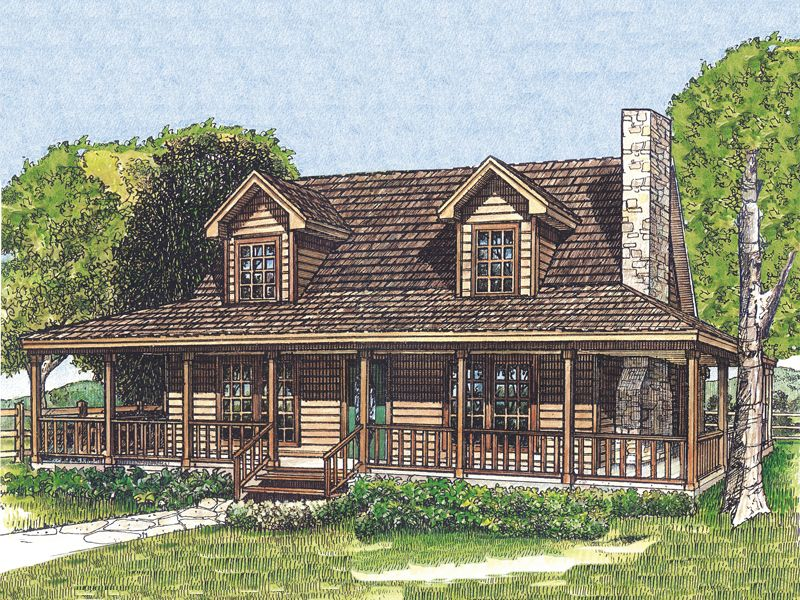 Laneview Rustic Country Home Country House Plans Cabin House Plans