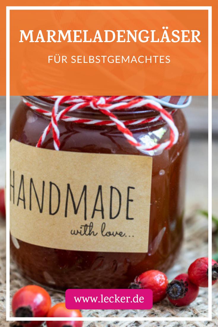 Marmeladegläser kaufen Geschenke aus der küche