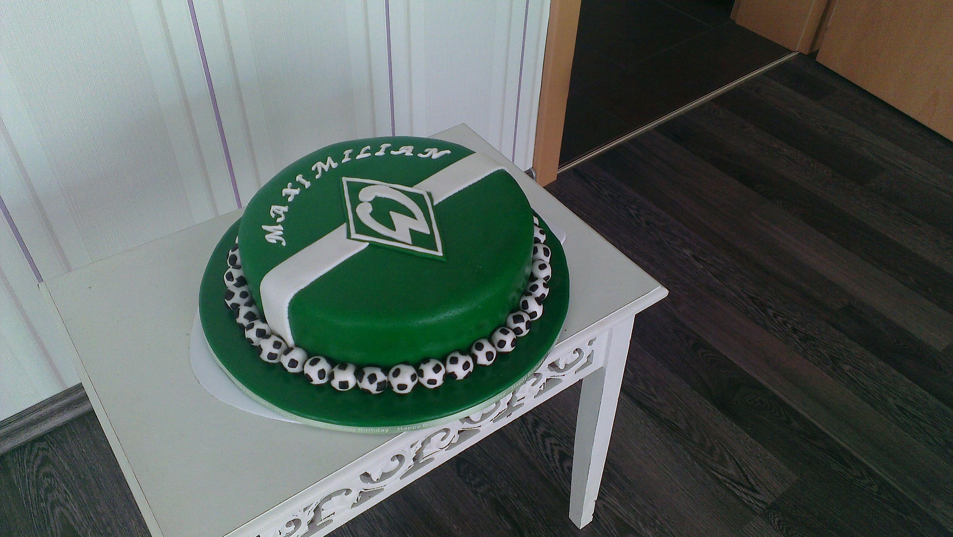 Werder Bremen Torte Seitlich Birthday Parties Pinterest Bremen