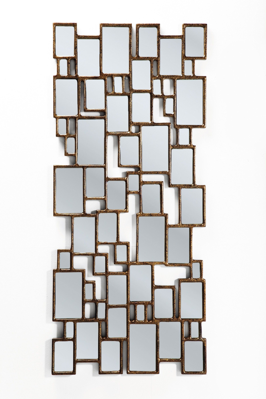 Spiegel Kare Design cubes spiegel kare design koper spiegels cube