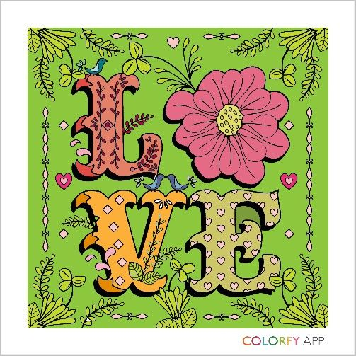 official website of colorfy coloring book for adults free app available for iphone ipad and android - How To Make A Coloring Book App