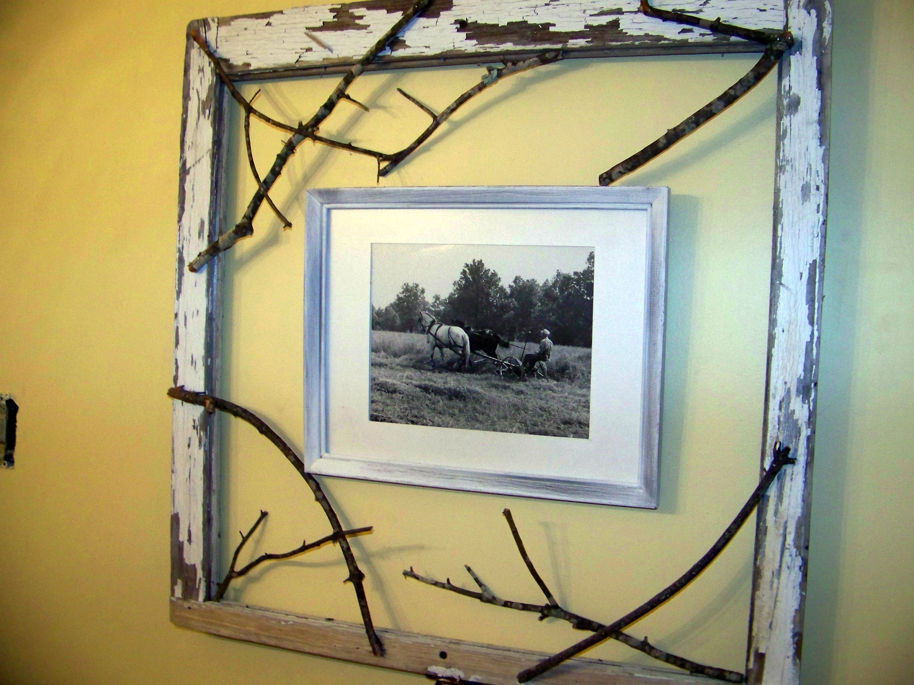 Old Window Frame | For the Home | Pinterest | Window frames, Window ...