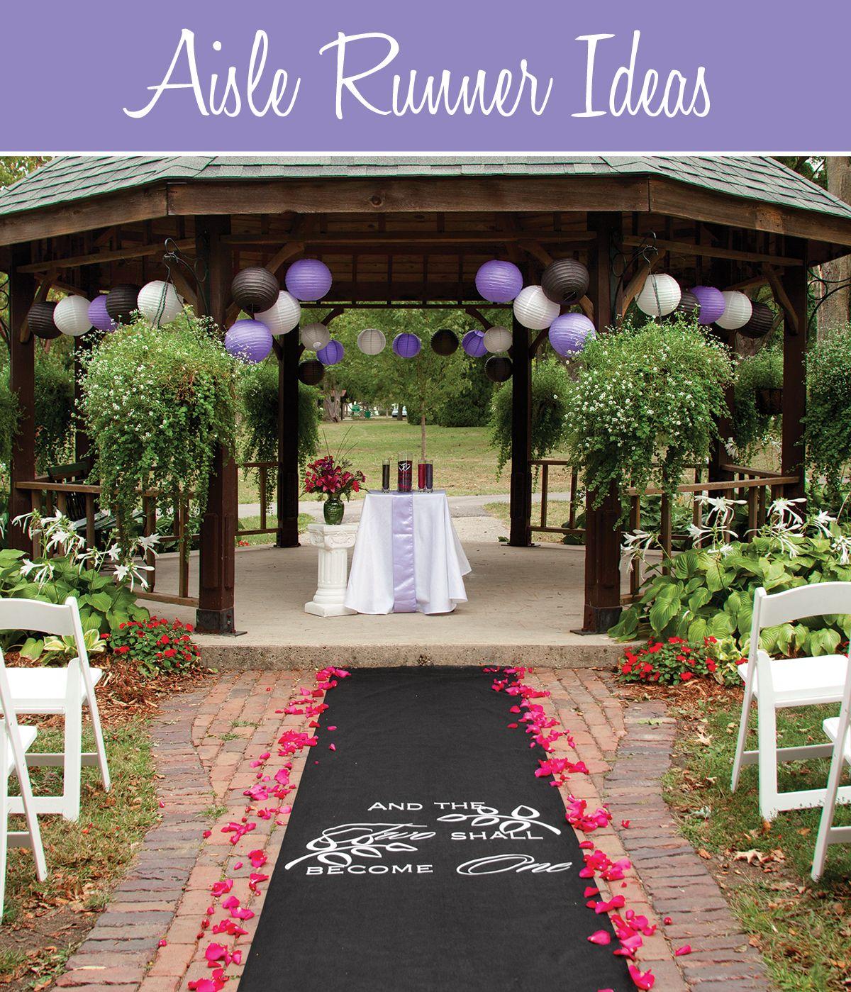 Wedding Aisle Runner Ideas