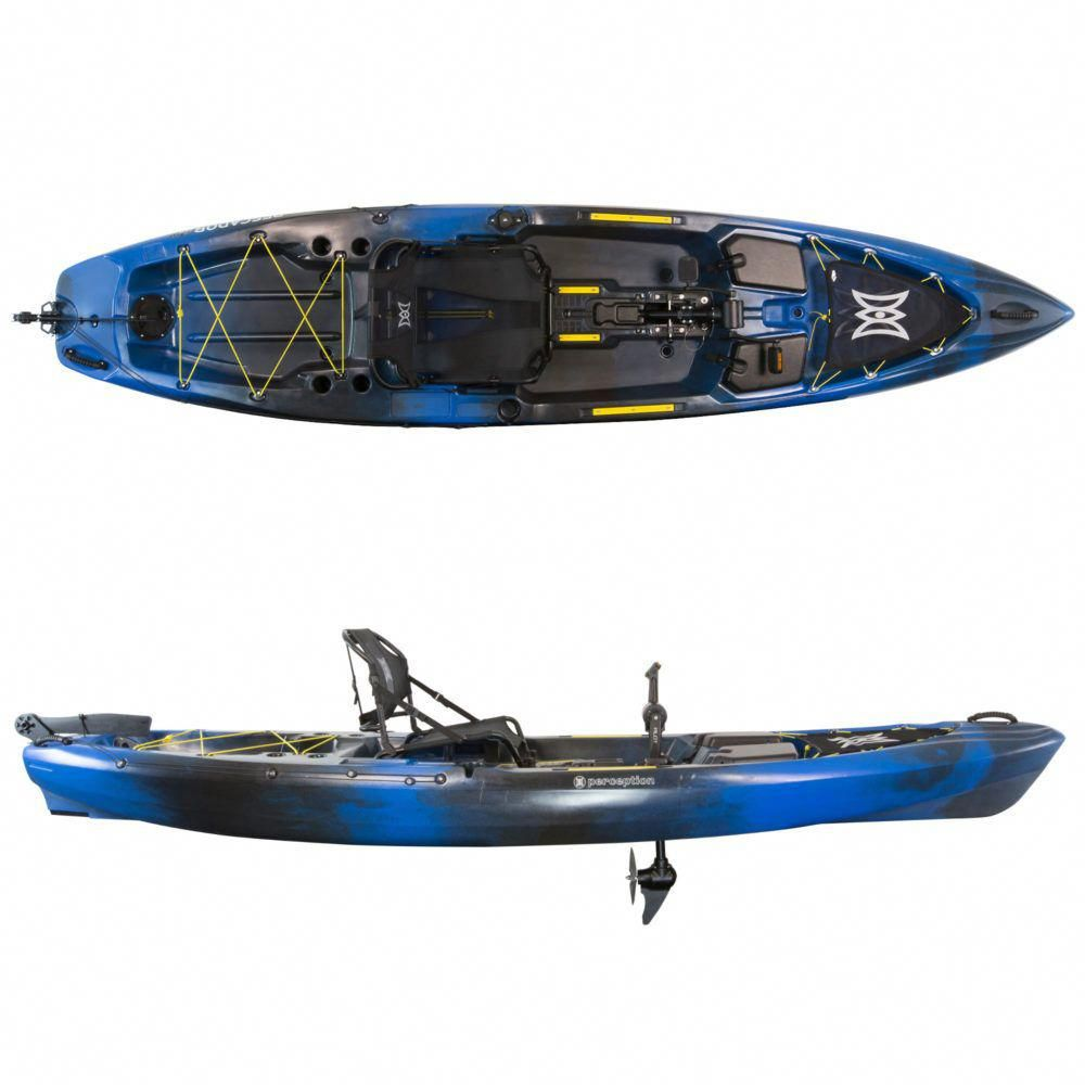 Perception Pescador Pilot Sonic Camo Kayaking
