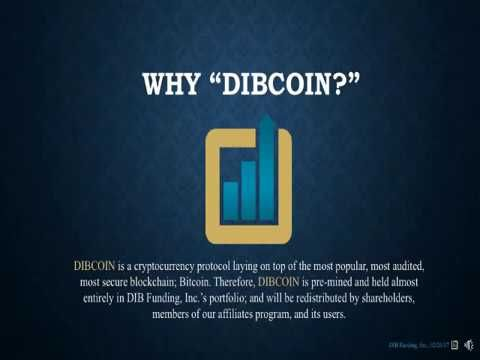 Why Dibcoin Cryptocurrency Blockchain Bitcoin