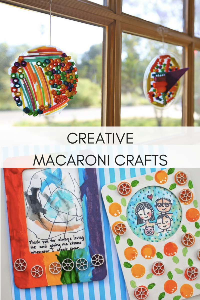 The Most Creative Macaroni Crafts Activities To Do With The Kids