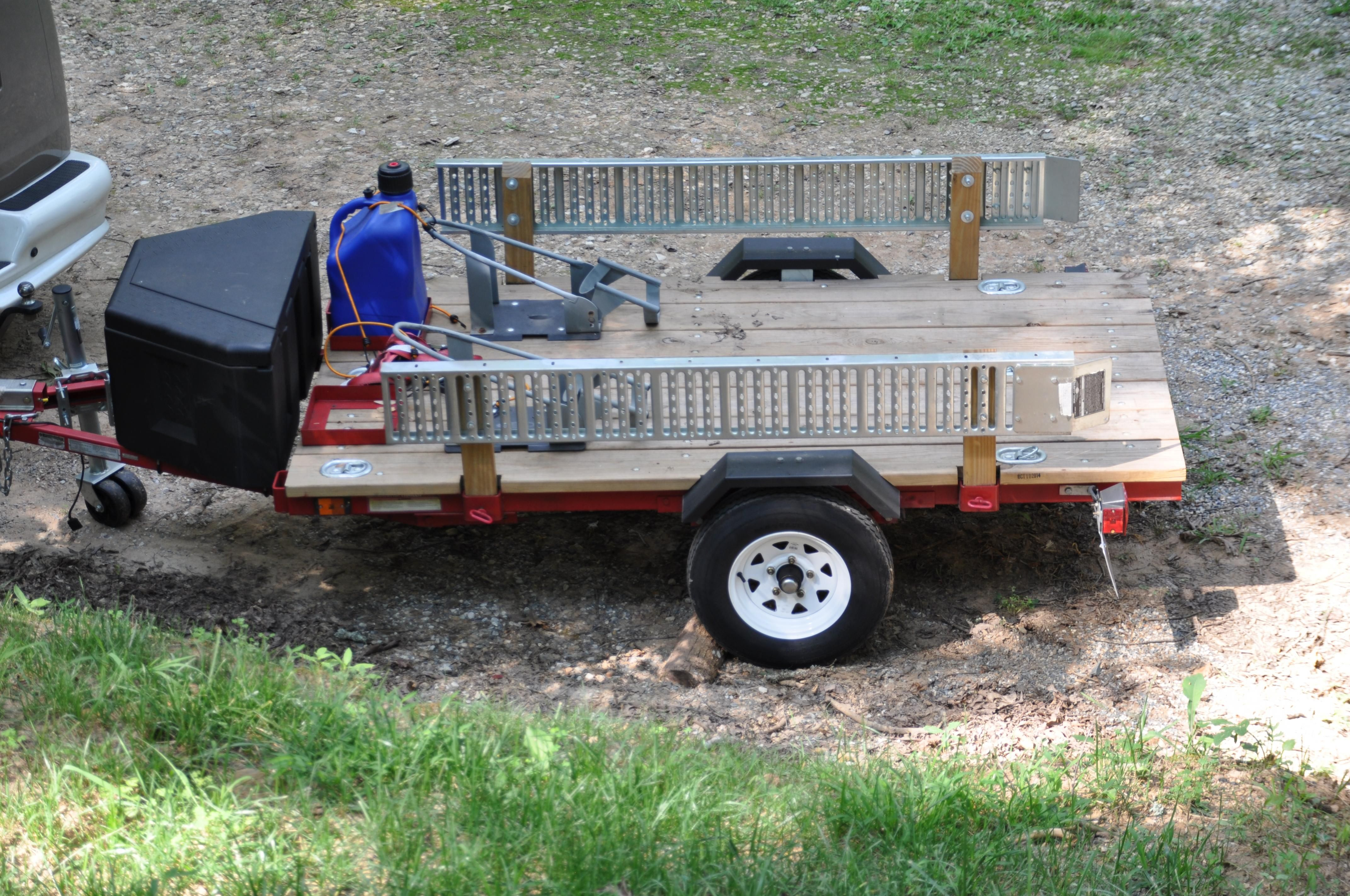 Image result for harbor freight trailer 4x8 space case | Projects to
