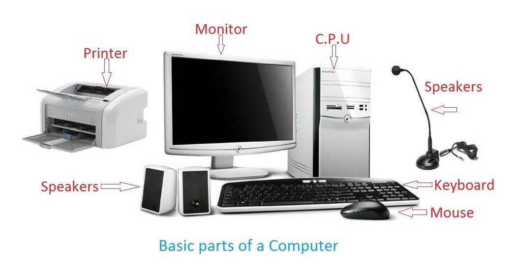 These Parts Of The Computer And Some Other Devices Are Connected Together With The Help Of Wires And Cables Computer Computer Supplies Pc Computer