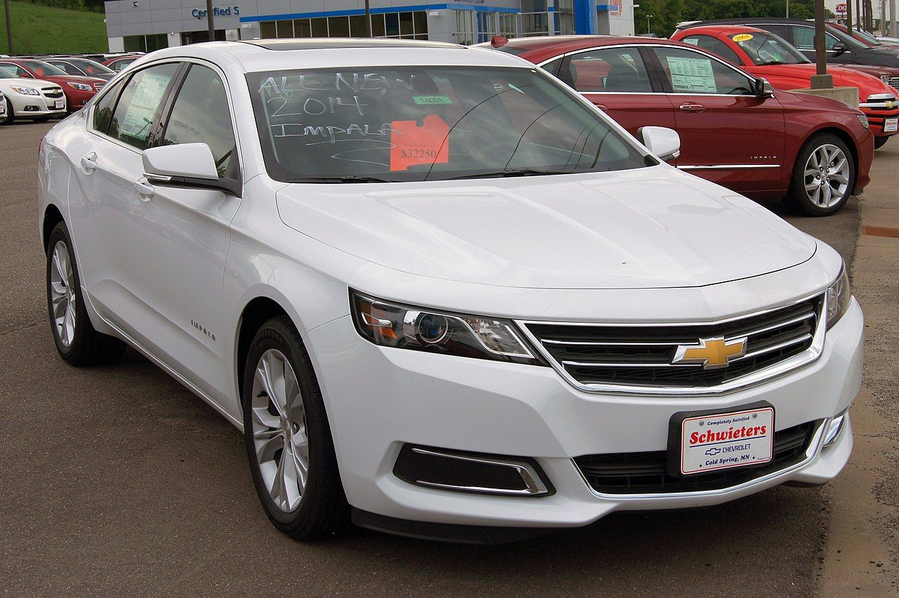 2014 Chevy Impala Europe List Of Chevrolet Vehicles Wikipedia