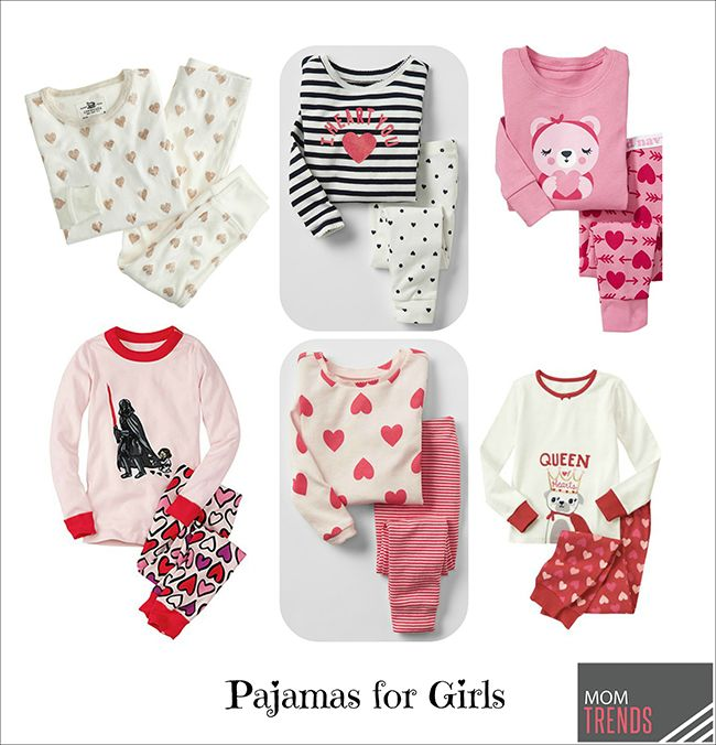 Schön Valentines Day Pajamas For Girls Sweet Heart Day Ready Jammies For Your  Little Ones   Valentine