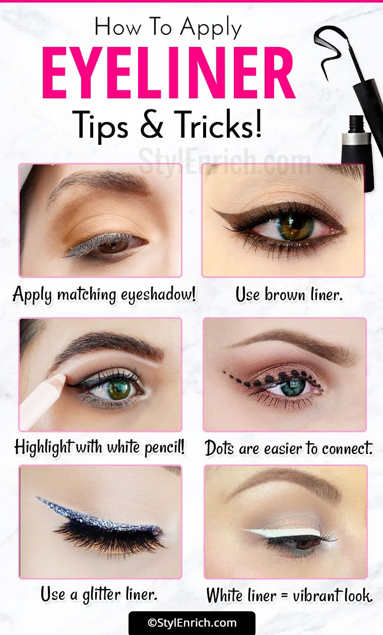 Welcome to Gabriel Atanbiyi Blog: Eyeliner Tricks : How To Apply