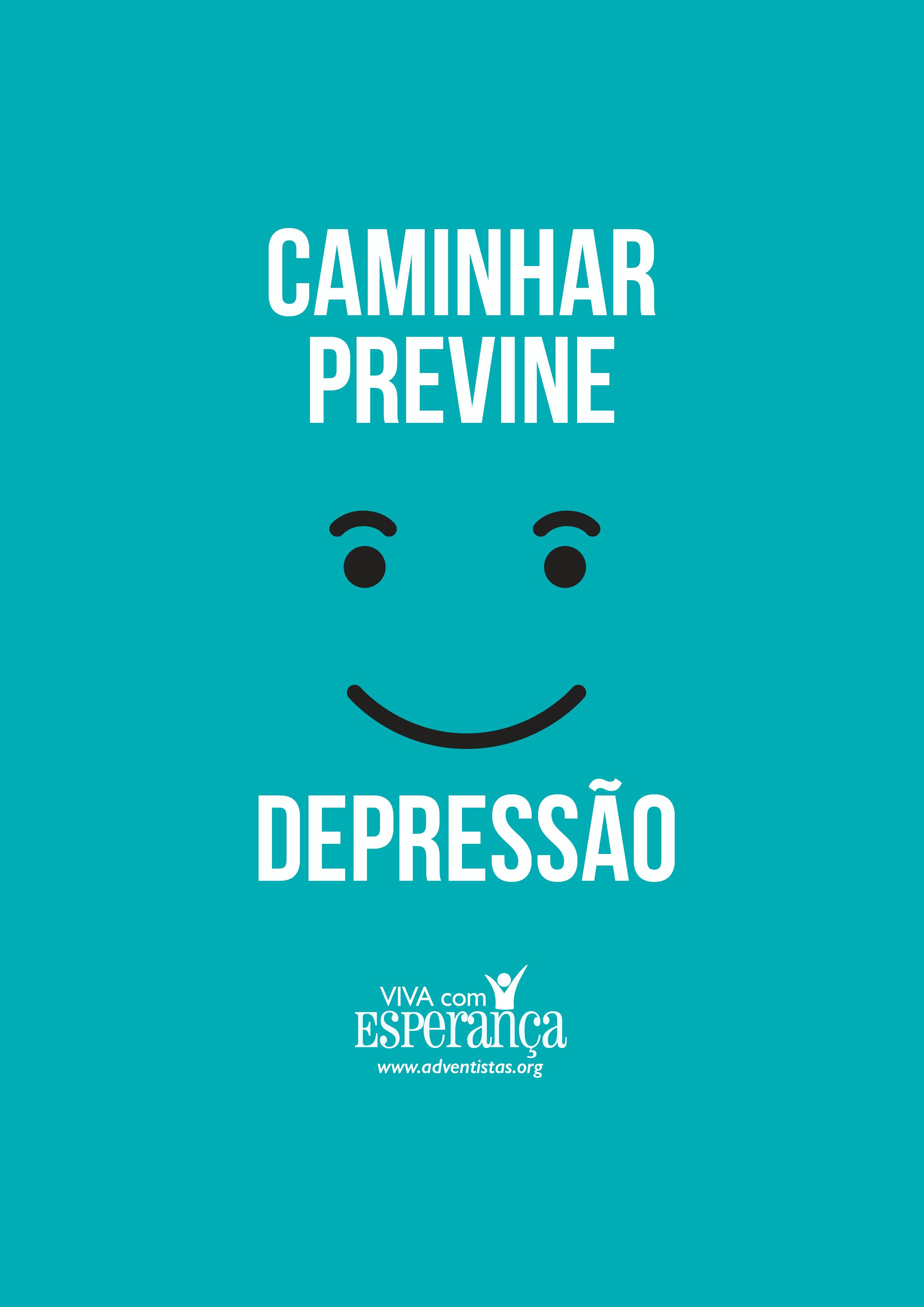 Suficiente caminhar previne a depressão | Frases motivacionais - Treino  YN32