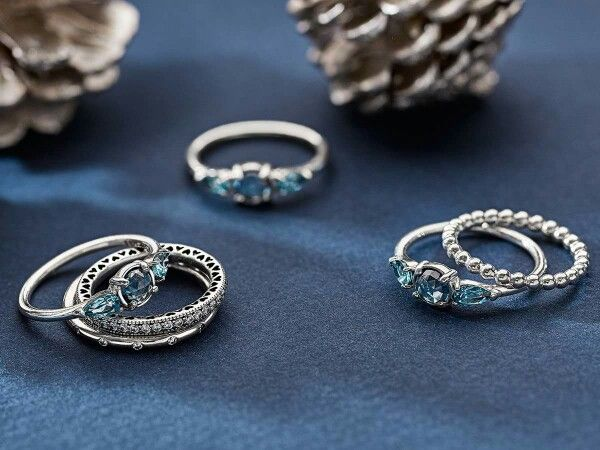 b87d57335 Ice Drop rings from Pandora! | Pandora, a Charmed Life in 2019 ...