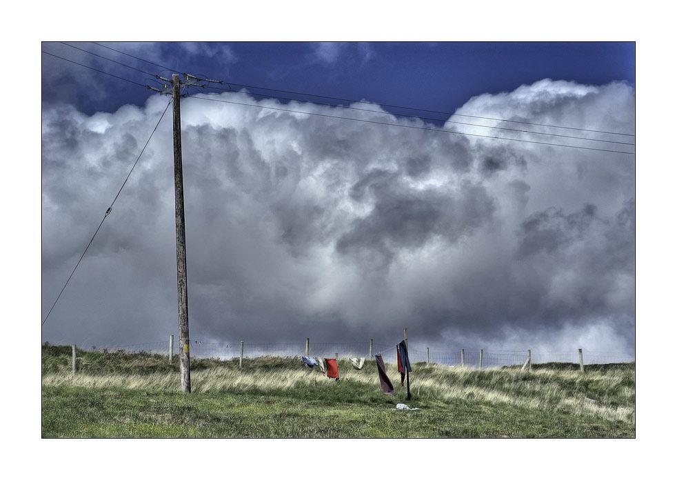 Ein Unwetter zieht auf ... von Gerhard M. Busch