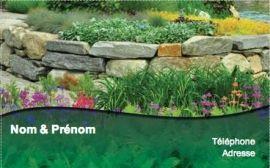 Carte De Visite Espace Vert Modele Gratuit En Ligne Jardinier