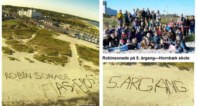 Forlis, en katastrofe, en redning – Robinsonade i Hornbæk