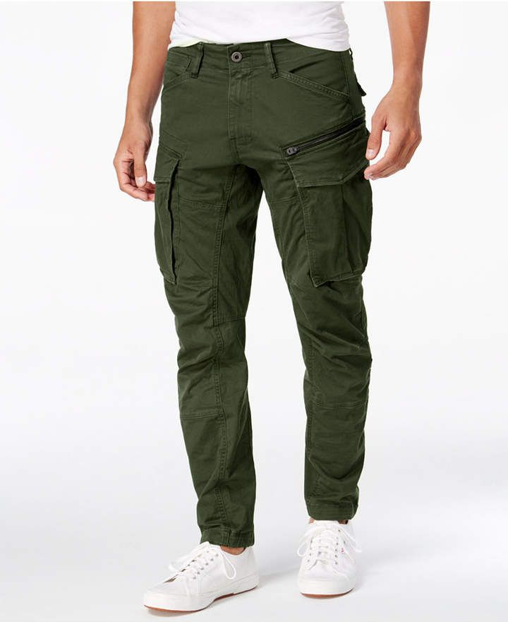 d12523186ffa G-Star Raw Men s Rovic 3D Slim-Fit Tapered Cargo Pants - Gray 30x32 ...