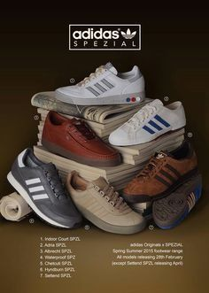 adidas Spezial advertising for 2015 | Shoes ads, Sneaker