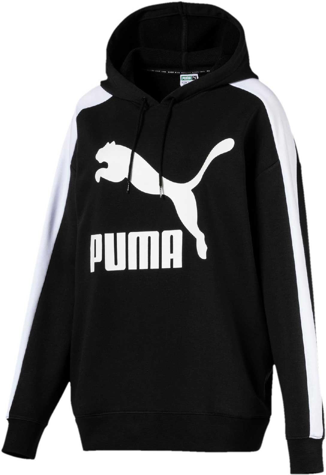 9a115d0c3e3c PUMA Women s Classics Logo T7 Hoodie in 2019