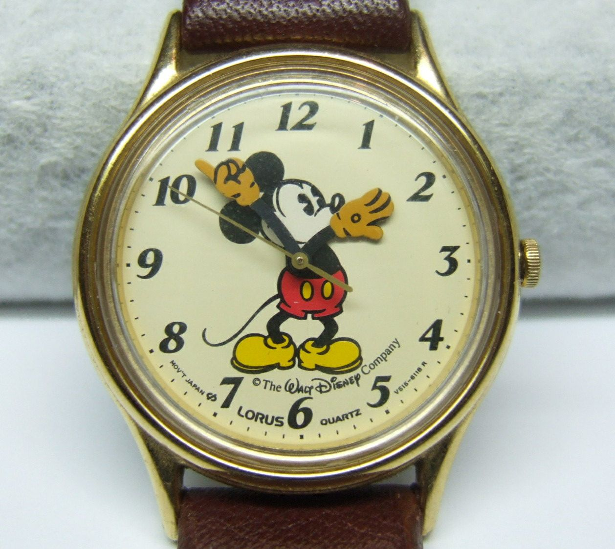 Vintage Watches Vintage Mickey Mouse Watch By Zitro1141