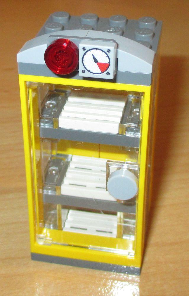 Details zu Lego City - Friends - 1 Cooler Kühlschrank in Gelb-n.d. ...