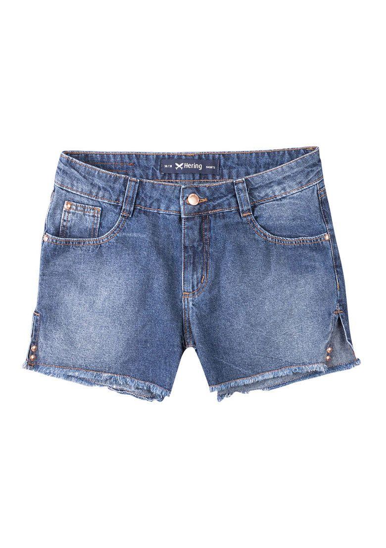 3d8bfd9f7 Shorts jeans feminino hering na modelagem slim na Hering | Favoritos ...