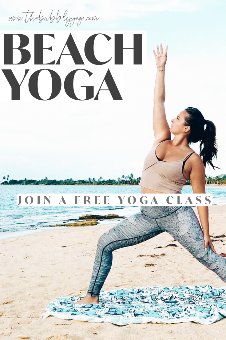 Love Beach Yoga Try These Free Yoga Classes Set In A Tropical Beach Setting Take 10 Minutes For Yourself With Th Free Yoga Classes Free Yoga Videos Free Yoga