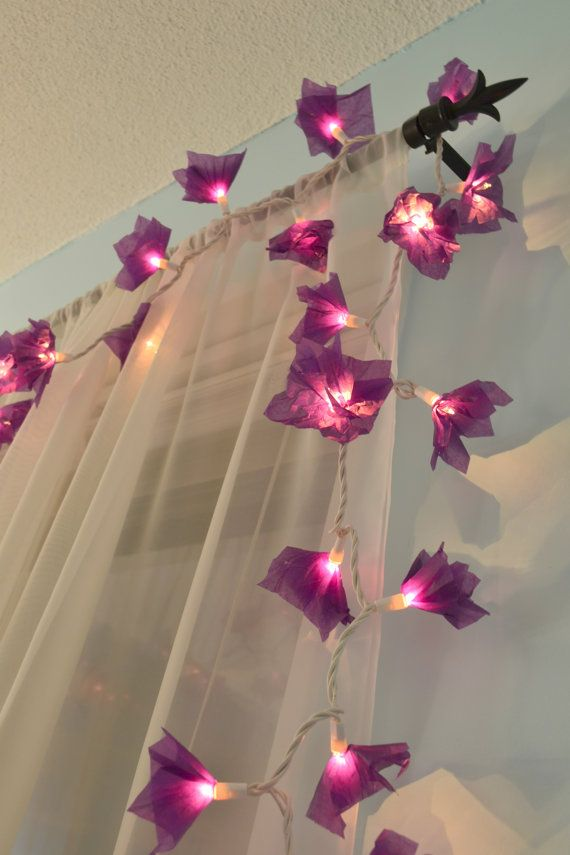 No offense to the seller but i bet these pretty tissue paper flower no offense to the seller but i bet these pretty tissue paper flower lights are easy to make going to try them mightylinksfo