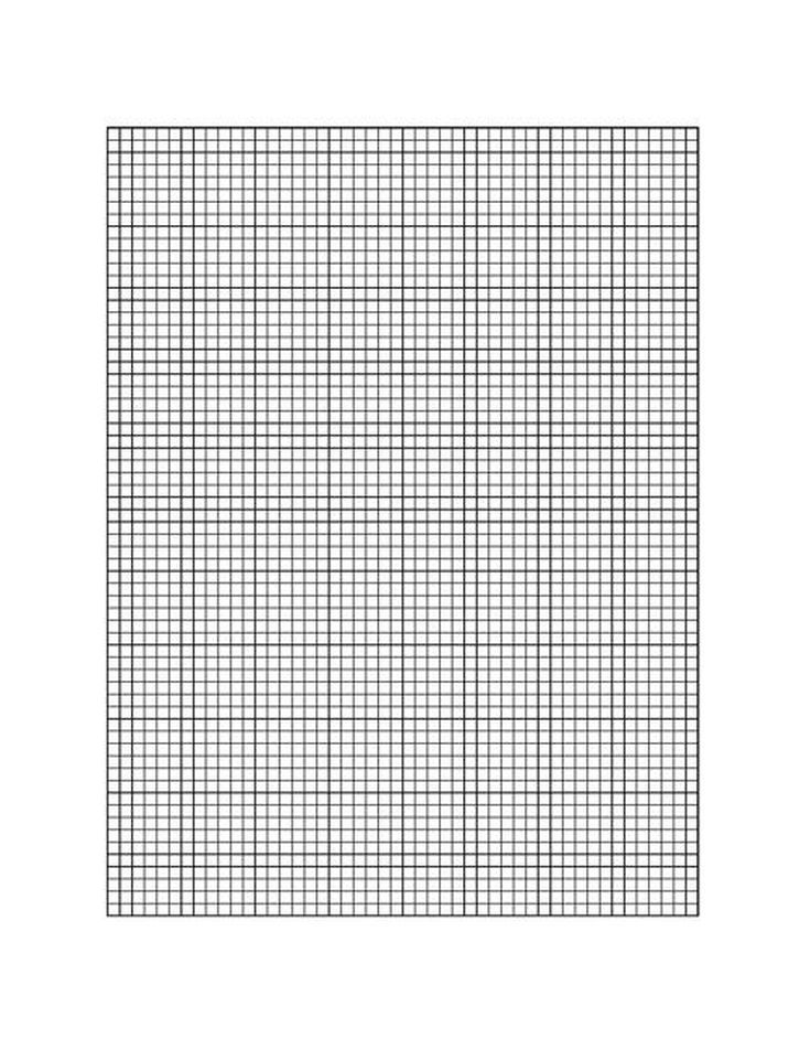 Need Graph Paper? You Can Print Out These Free Templates at Home - math grid paper template