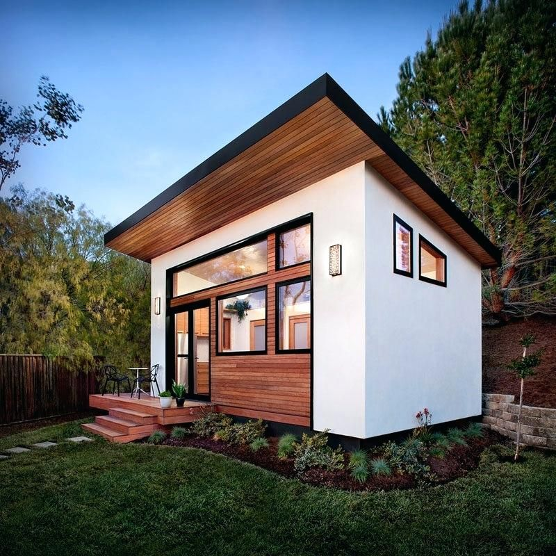 Modern Tiny Homes Design Plans You Must See Backyard Guest Houses Tiny Guest House Guest House Small