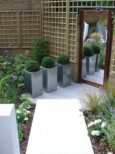 Dise o de jard n moderno jardin dise o de jard n - Diseno jardines modernos ...