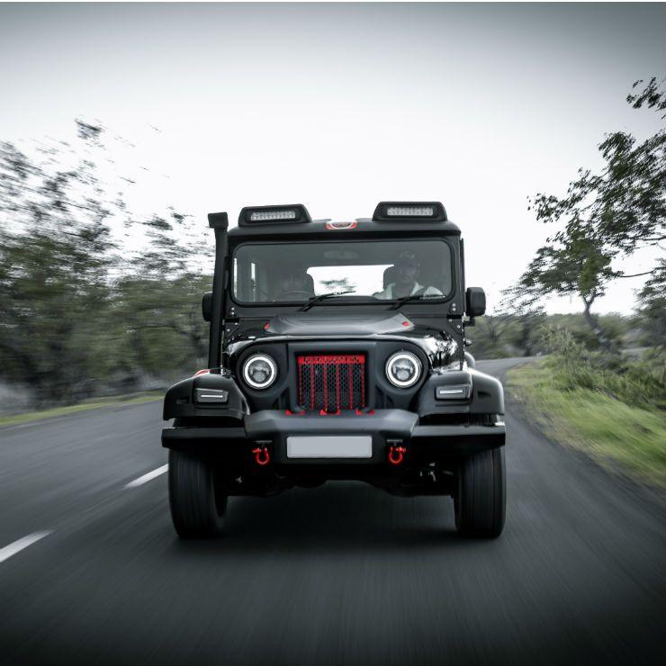 Modified Mahindra Thar Black Hawk Edition Is Opulent Yet Brutish