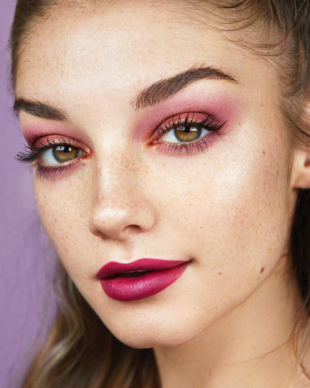 Soft Vintage Makeup: Fall Makeup Look @ColourPopCo