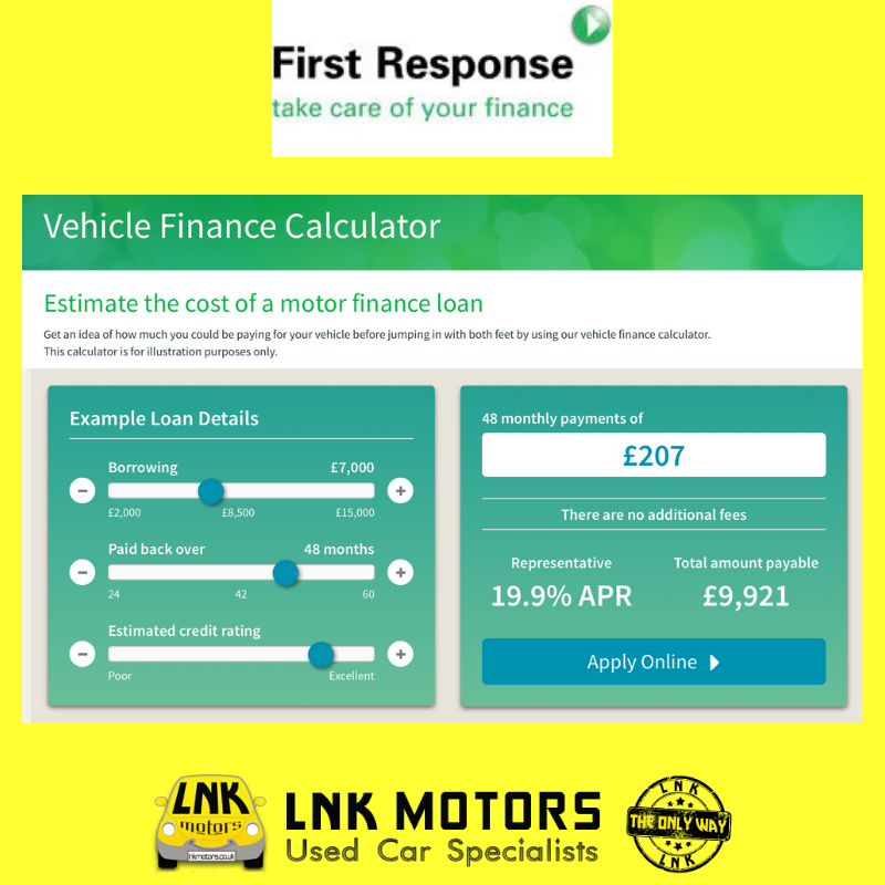 Do you need finance on your next car? click the link below