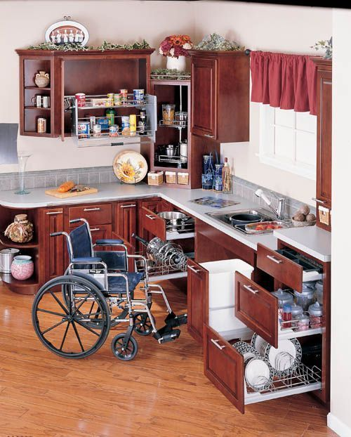 Interior Handicap Kitchen Cabinets image result for advice designing a kitchen someone in wheelchair friendly cabinets and modifications homeowners south central pa alone eagle remodeling specializes whe