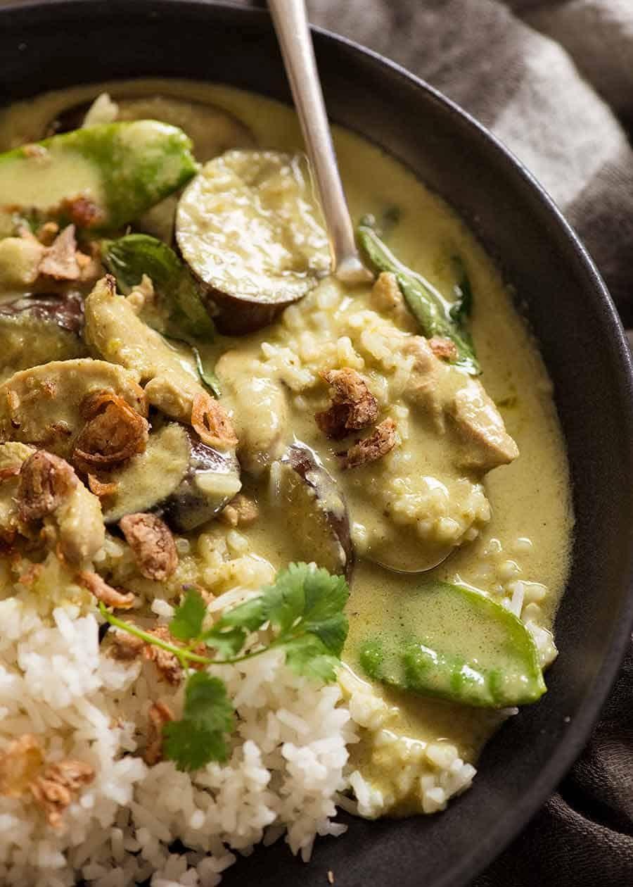 Thai Green Curry Recipe Green Curry Recipes Curry Recipes Thai Green Curry Recipes