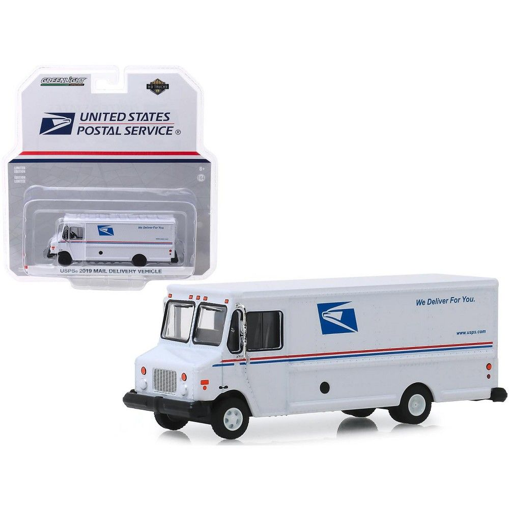 GREENLIGHT 33170 B 2019 USPS POST OFFICE MAIL DELIVERY VEHICLE 1//64 WHITE
