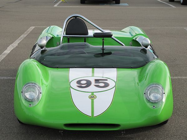 Low, wide, and streamlined! Lotus 23b