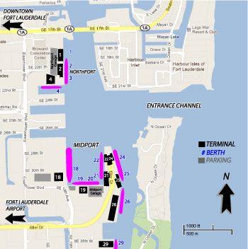 Fort Lauderdale Cruise Port Fort Lauderdale Cruise Port Cruise Port Carnival Conquest Cruise