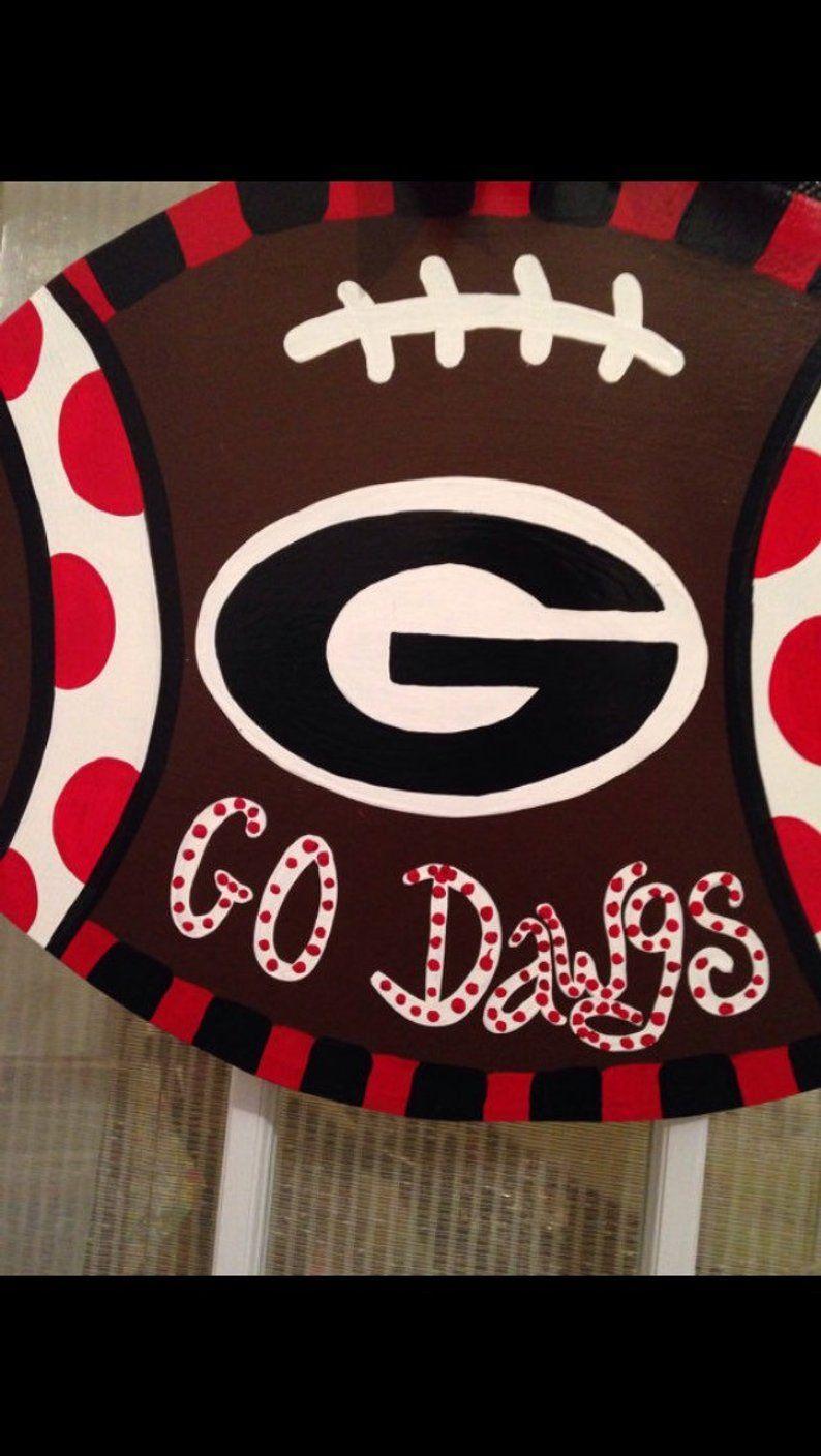 Go Dawgs Georgia Bulldog Football Father S Day Present Etsy