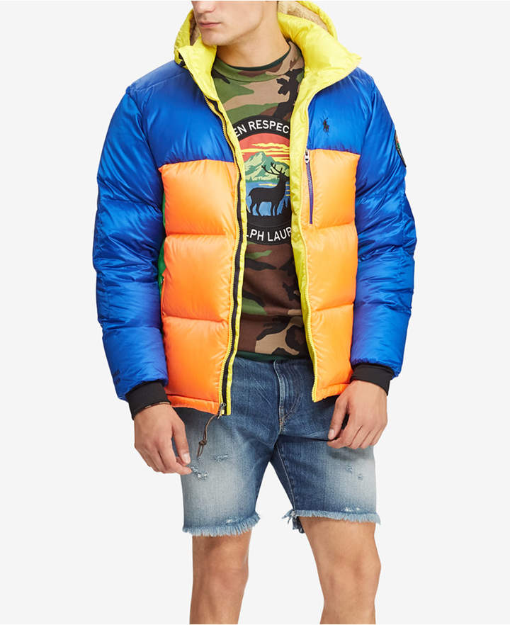 Polo Ralph Lauren Men's Great Outdoors Repellent Down Coat