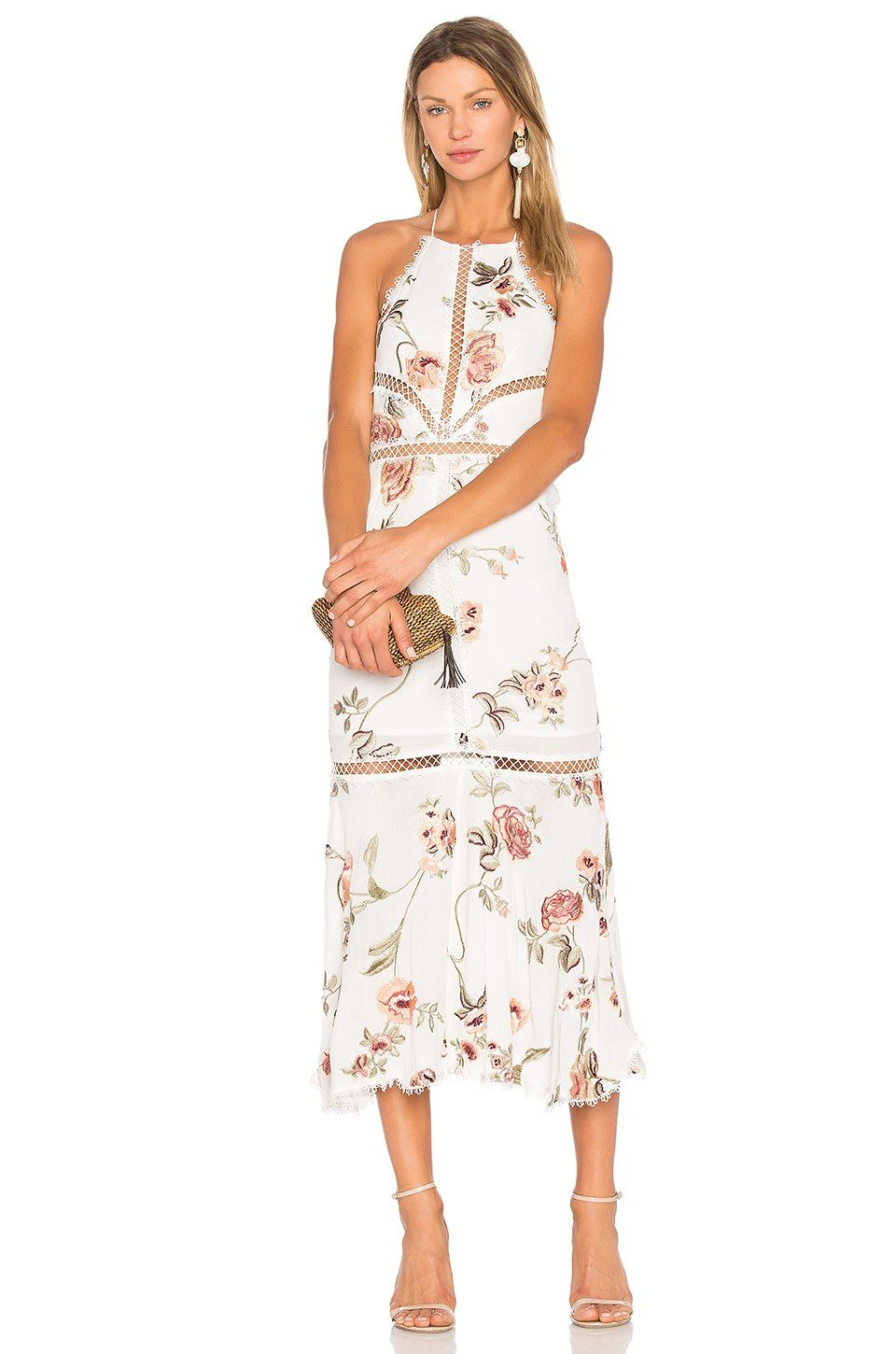 X by NBD Felicity Embroidered Dress in Floral  f46a1bb4b078
