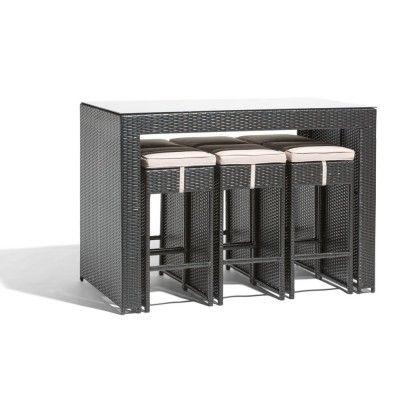 Salon de jardin et ensemble repas | Déco\' | Table, Modern ...