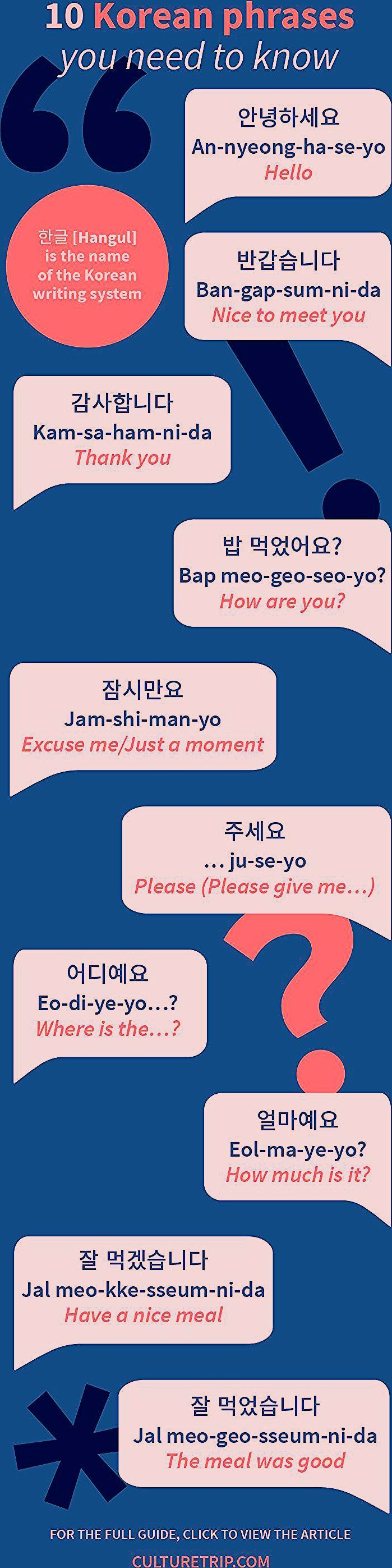 Photo of 15 Korean Phrases You Need to Know