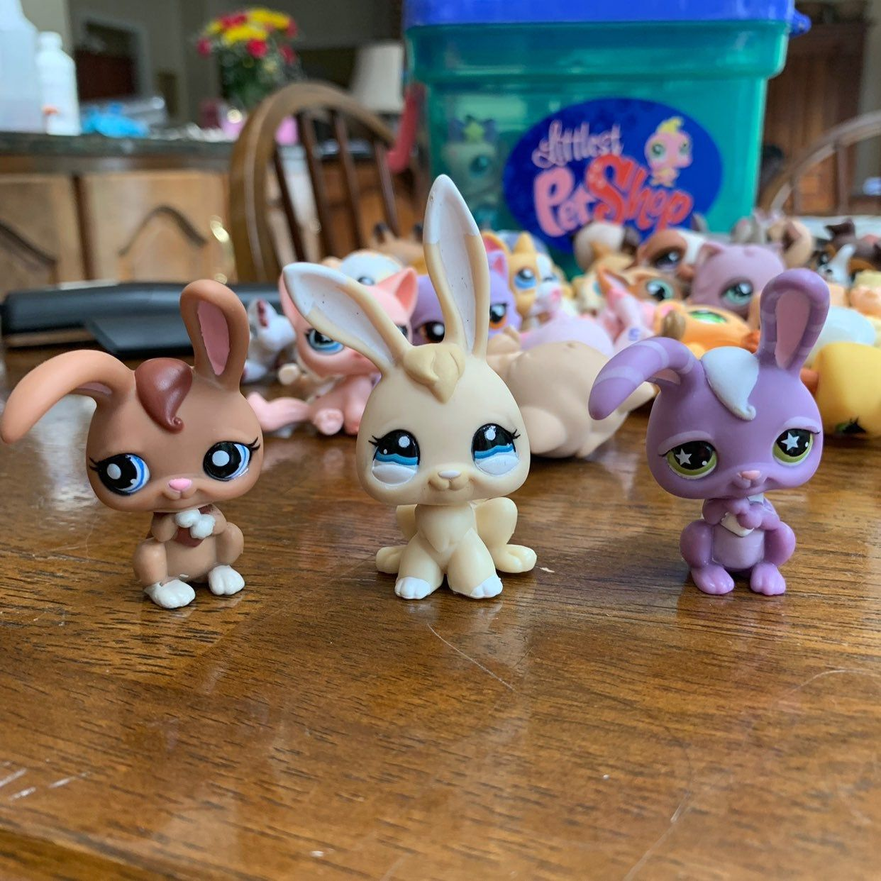 Lot Of 3 Lps Bunnies Great Condition Message Me With Any Questions Open To Offers Lps Littlest Pet Shop Littlest Pet Shop Little Pet Shop