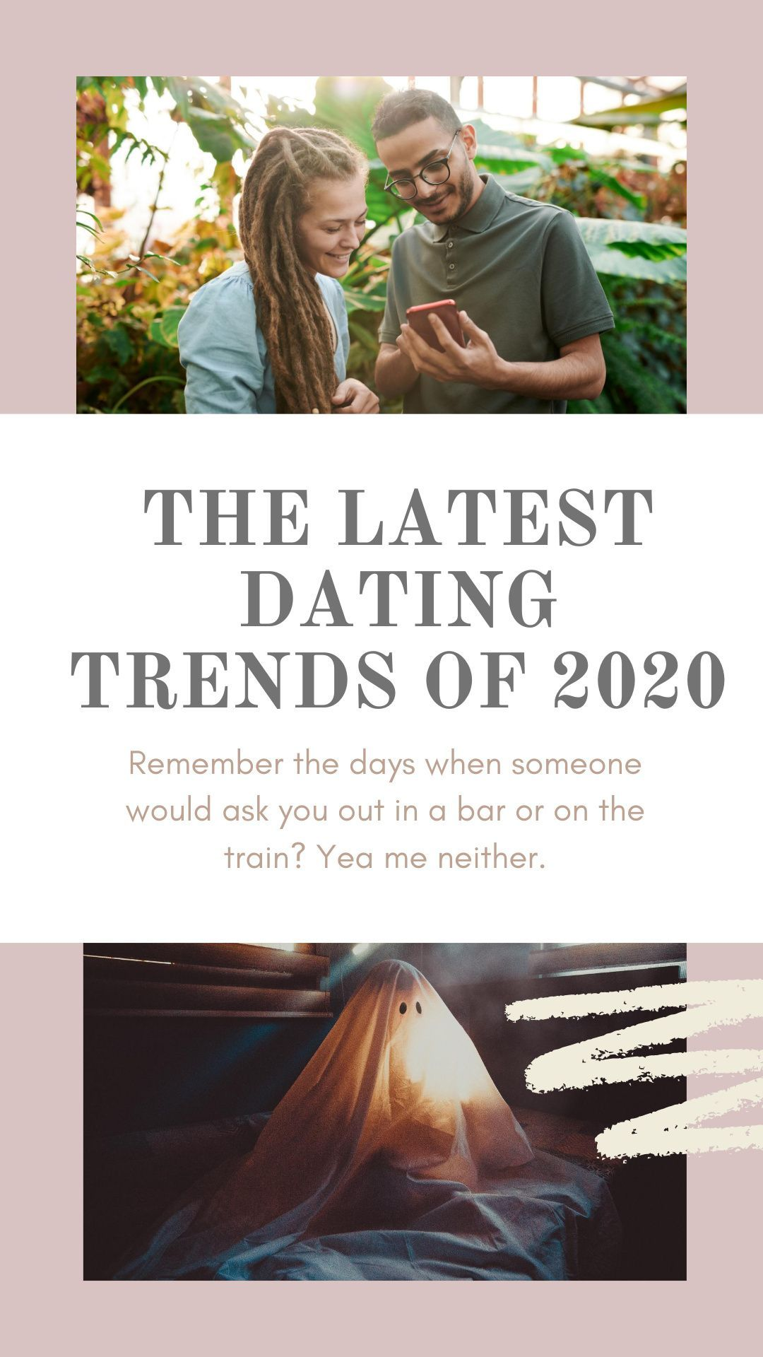 Latest dating trends of 2020. Dating apps. Ghosting, zombieing, breadcrumbing. Finding love online. #singlelife #datingadvice #datingapps #bumble #hinge