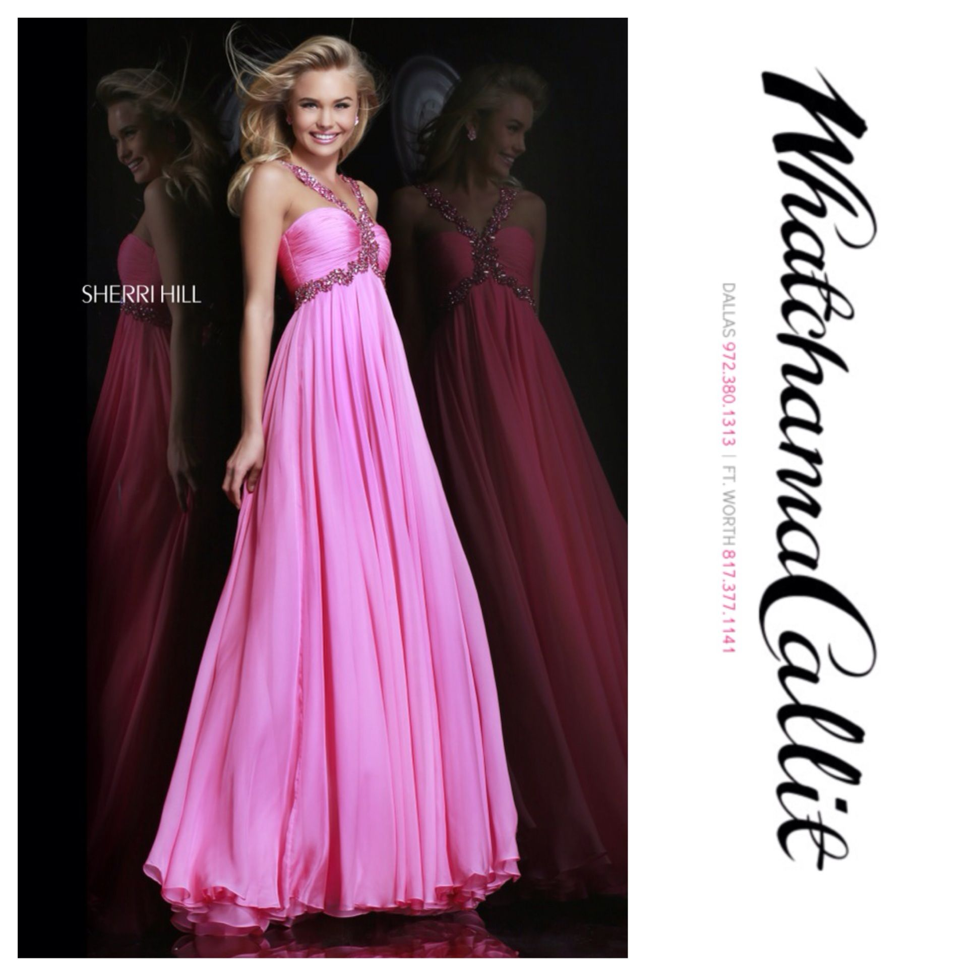 Sherri hill dress available at whatchamacallit boutique for