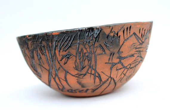 Circle  Bowl by Peraltapallete on Etsy