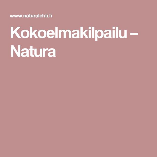 Kokoelmakilpailu – Natura